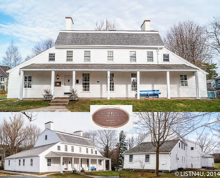 Scott Manor House In Bedford Nova Scotia Circa 1770 Is A Registered Heritage Property