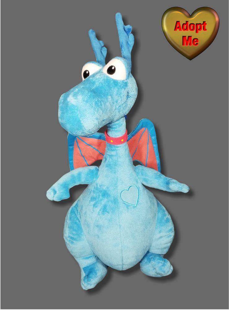 Disney Stuffed Plush Doc Mcstuffins Talking Light Up Stuffy Blue