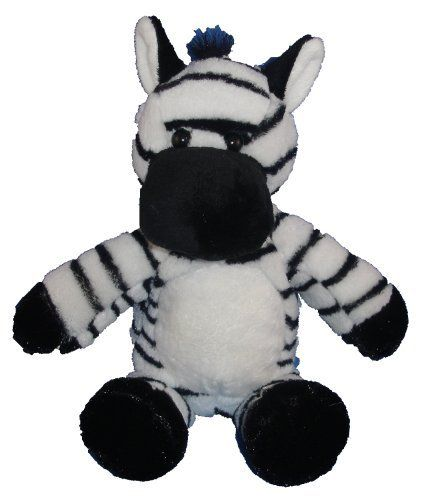 12 Zebra Make Your Own No Sew Stuffed Animal Kit By Pink Moose