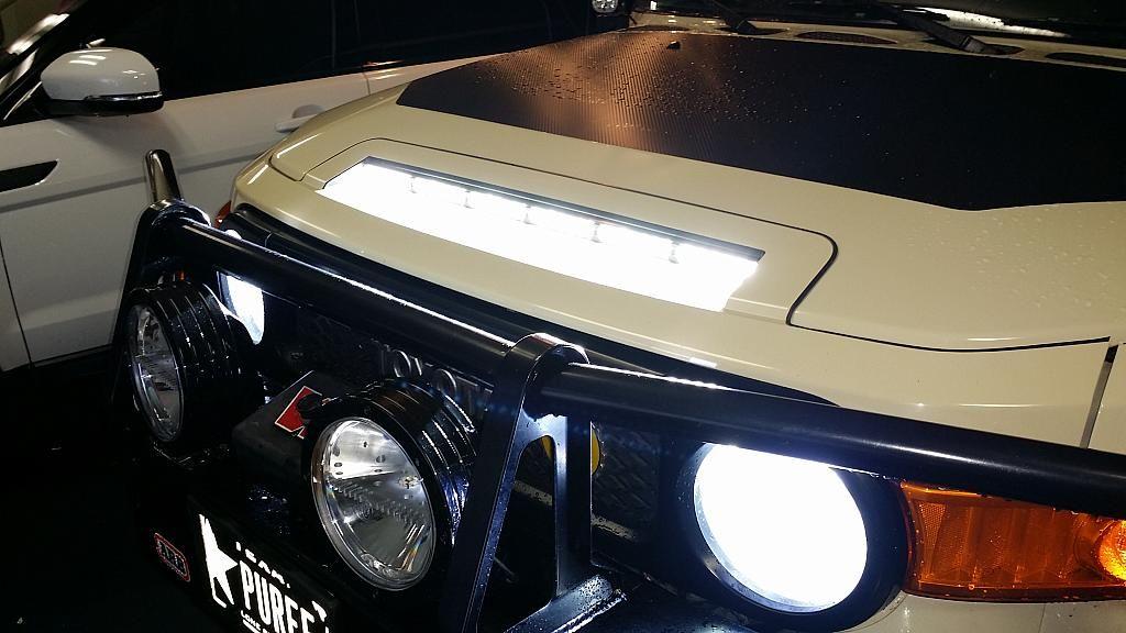 Now Available Hood Scoop Light Kit Toyota Fj Cruiser