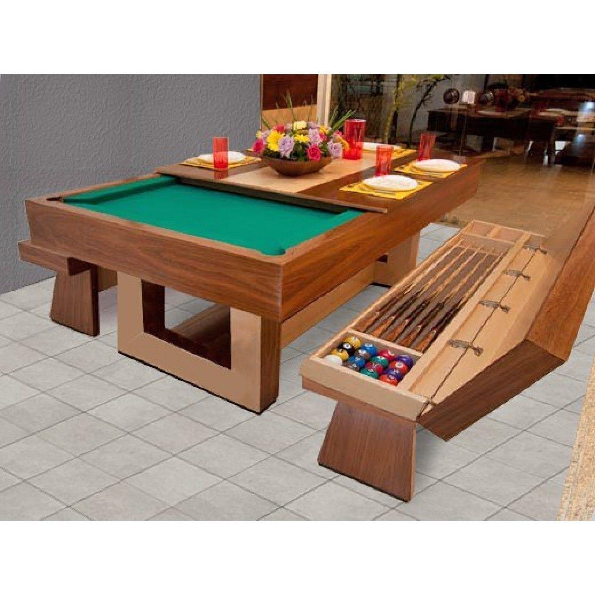 Mesa de sinuca shangai mesa de sinuca e jantar c d for Mesa gaming barata