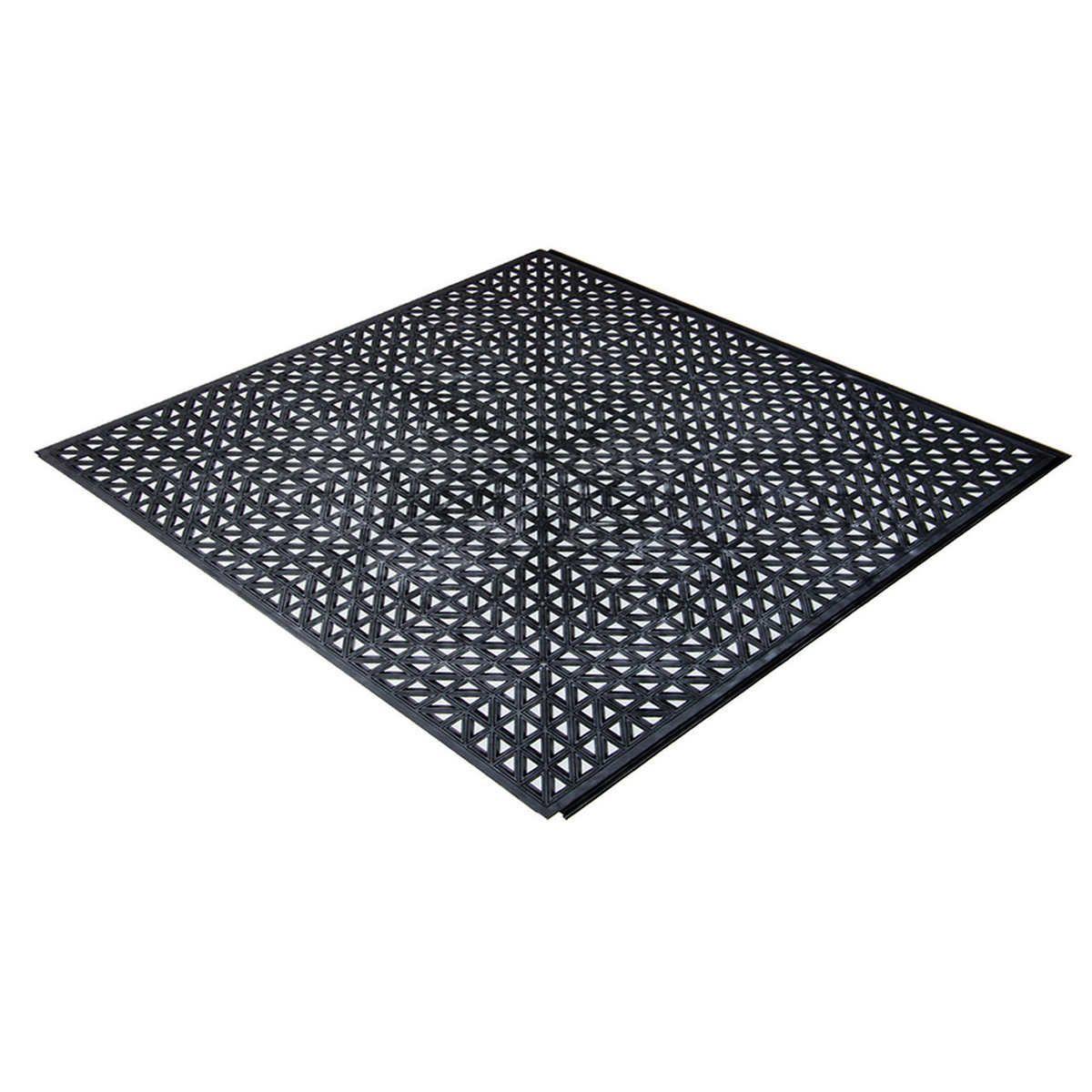 PlastiProLoc Heavy Duty Garage Floor Tiles Garage floor