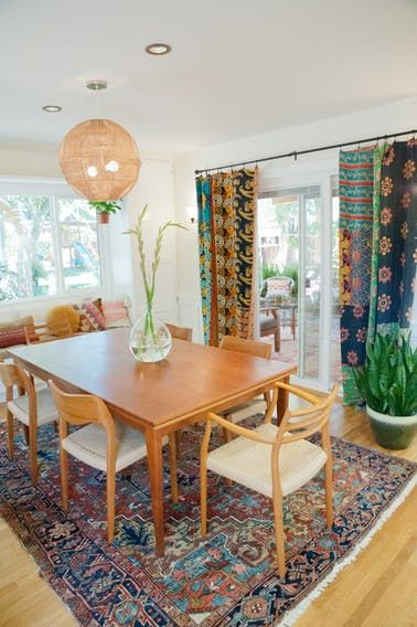 This cheery California house is bursting with colorful and bold pattern in every room. And the backyard is an outdoor dream!