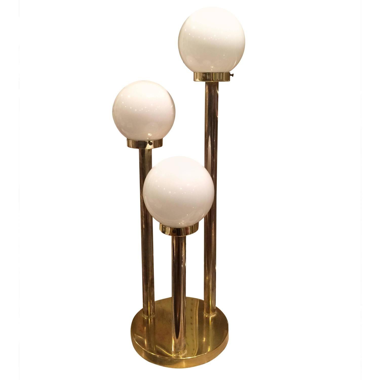 Robert sonneman style lollipop table lamp in brass modern table robert sonneman style lollipop table lamp in brass geotapseo Choice Image
