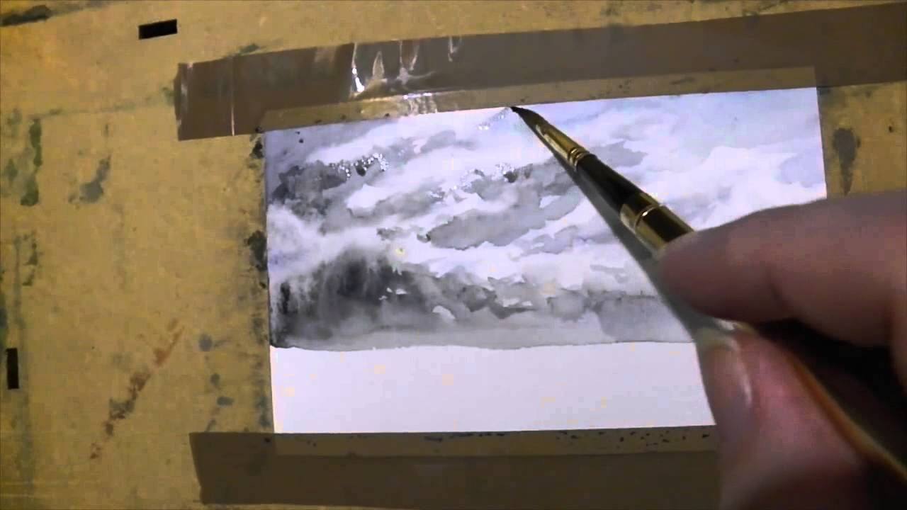 Aquazine Replay Differents Ciels A L Aquarelle True Painting