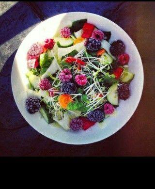 Fruit salade.