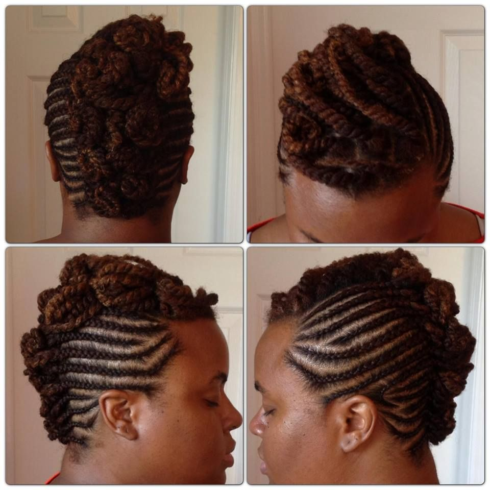 Pretty Braided Updo Style Done By Prettydimples On Youtube Natural