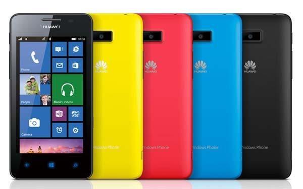 Huawei Ascend W2 Windows Phone 8 Smartphone