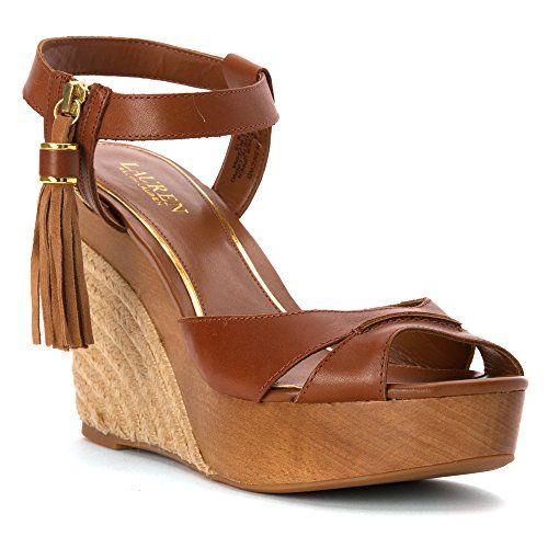 Lauren Ralph Lauren Womens Tahira Dress Sandal, Polo Tan