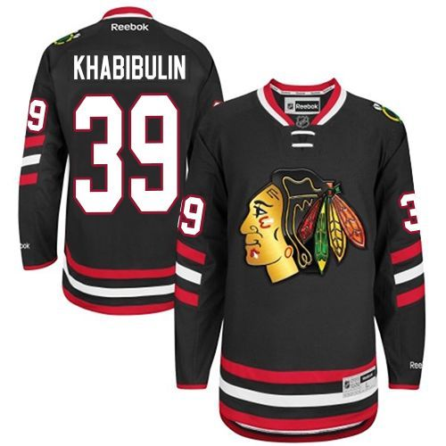 There is no better way to show you're a Hockey fan than by wearing their  team jersey and this Men's Chicago Blackhawks Marian Hossa Premier Black  White ...
