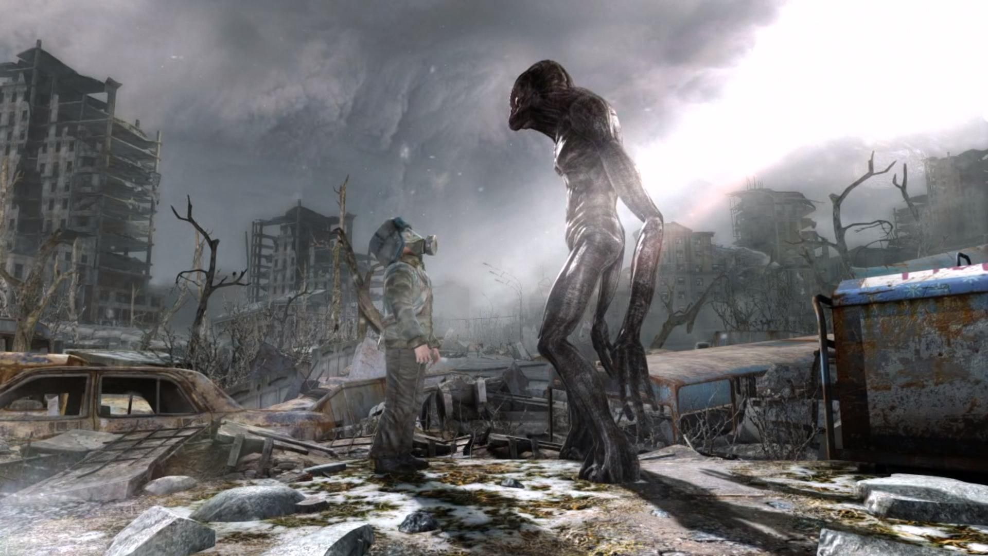 Wallpapers Fond Decran Pour Metro Last Light PC PS3 Xbox 360 Mac WiiU PS4 One