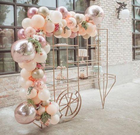 Baby First Birthday Girl Dekoration Luftballons 50+ Neue Ideen - #Ballons #Geburtstag #Dekoration #Erste #Ideen -