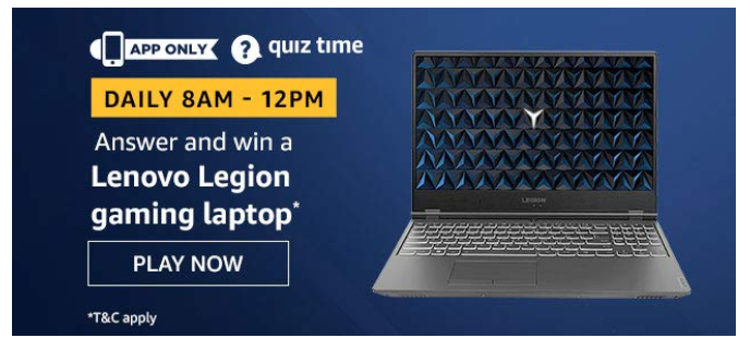 Today Amazon Quiz Answers 14th March (Answers Added) Win