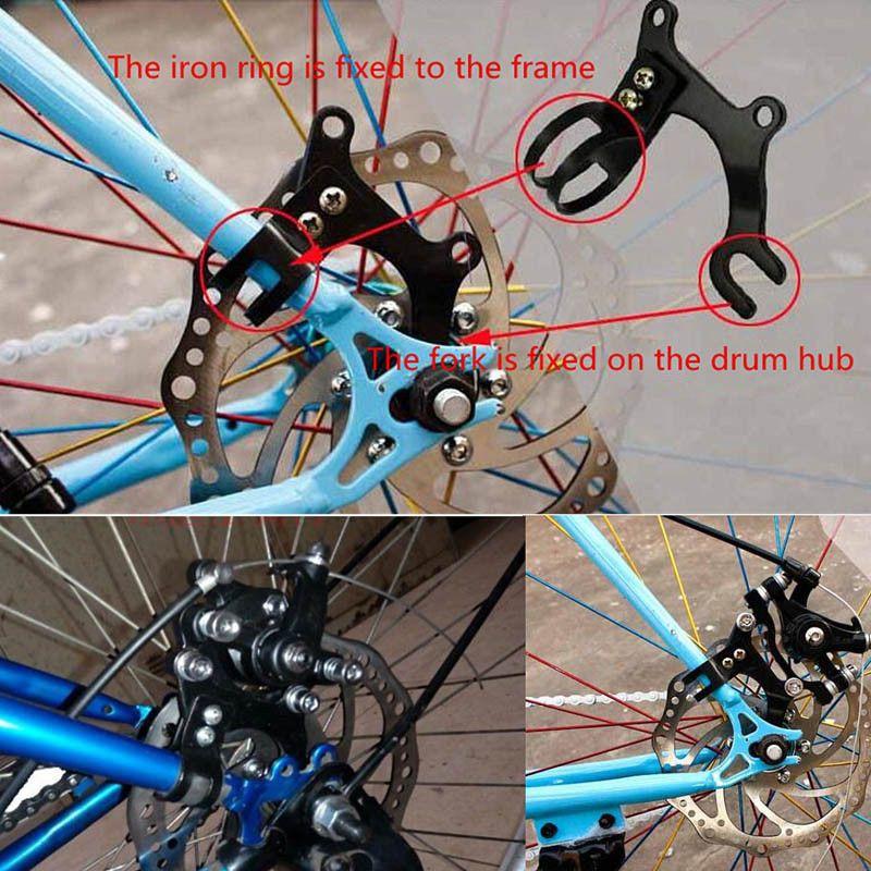 Adjustable Bicycle Bike Disc Brake Bracket Frame Adaptor