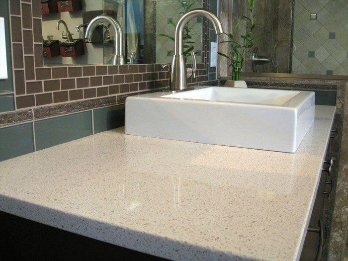 Sparkling White MSI Quartz kitchens Pinterest Quartz