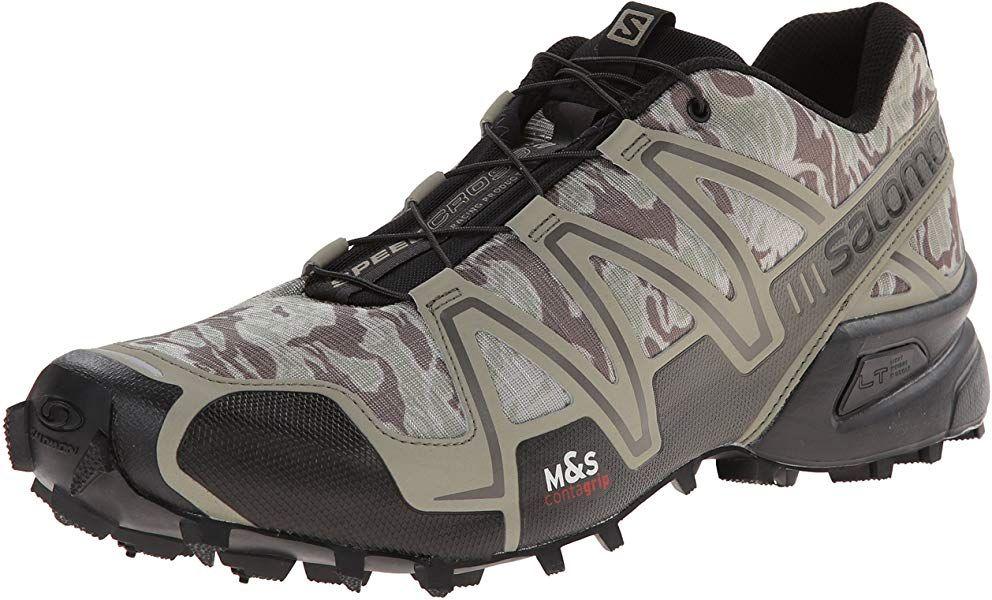 Salomon Speedcross 3 Herren Traillaufschuhe Grau Camo Titanium Dark Titanium Swamp 40 2 3 Eu 7 Herren Uk Amazon De Mannerschuhe Salomon Schuhe Stiefel