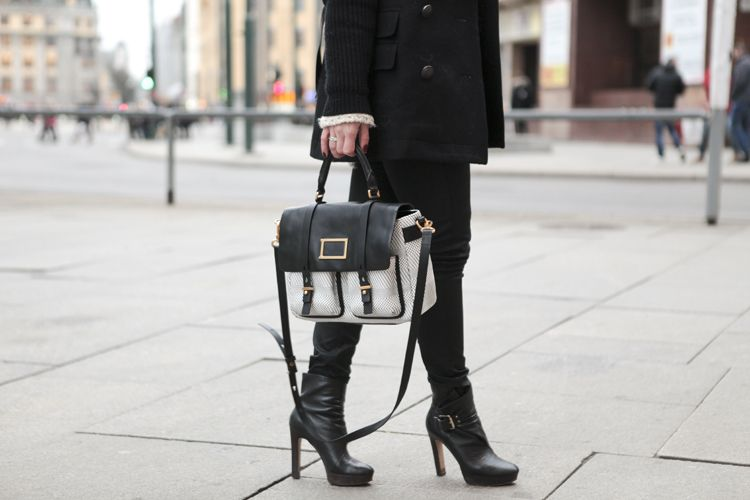 Monique Lund Marc by Marc Jacobs handbag Michael Kors heels