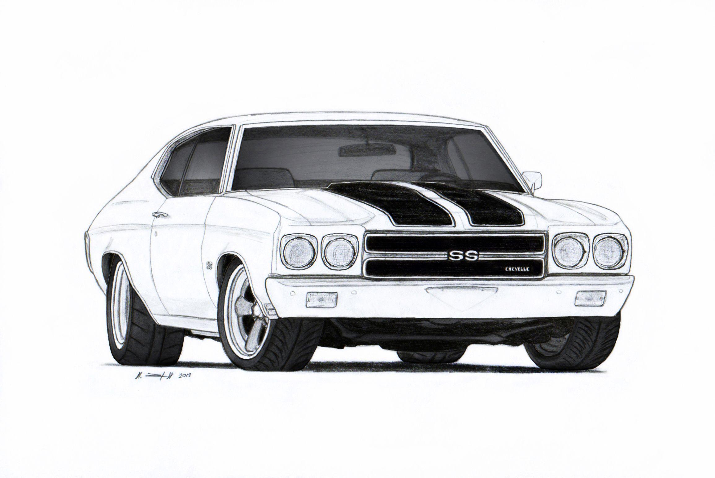 Contemporáneo Chevy Chevelle Para Colorear Ideas - Dibujos Para ...