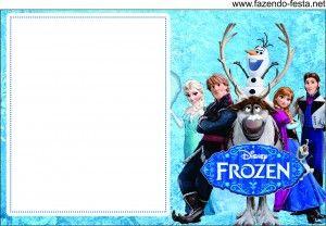 Mini Kit Frozen para Imprimir Gratis.