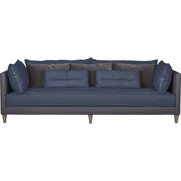 Crate Barrel Asana Sofa 20 540 Cny Found On Polyvore Ideas For