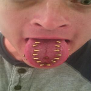 Tongue Piercing Gone Wrong | www.pixshark.com - Images ...