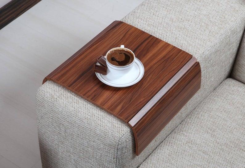 Sofa Arm Tray, Sofa Tray Table, Coffee Table, Sofa Table, Wood Tray, Sofa Arm Table, Gift, Home&Living, KNDC3040TB#arm #coffee #gift #homeliving #kndc3040tb #sofa #table #tray #wood
