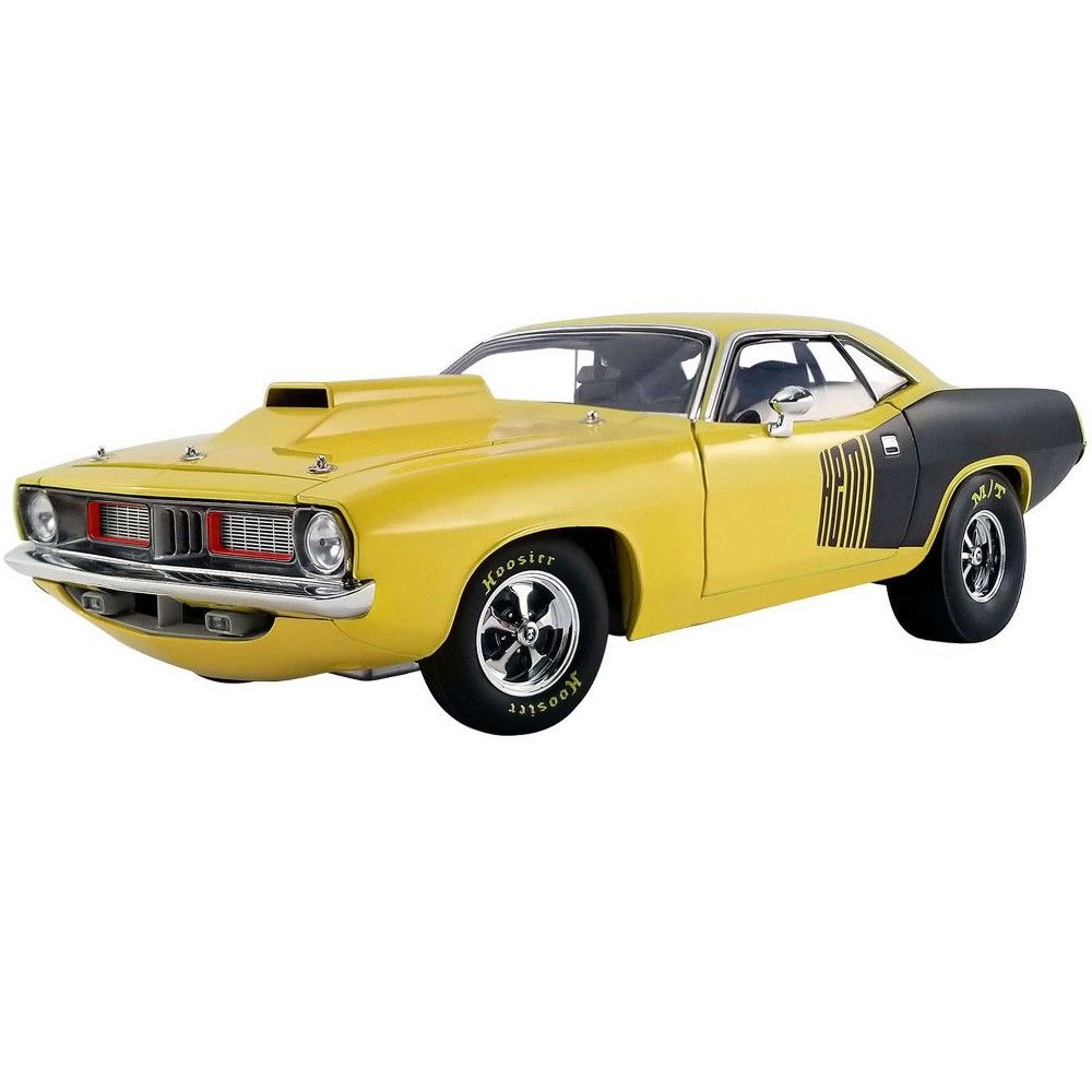 1972 Plymouth Hemi Drag Barracuda Lemon Twist Yellow And Black Limited Edition To 642 Pieces Worldwide 1 18 Diecast Model Car By Acme In 2020 Car Model Diecast Model Cars Custom Muscle Cars