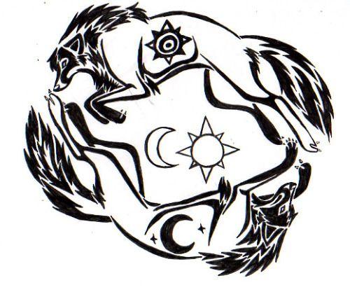 Norse Mythology Wolf Google Search Norse Tattoo Wolf Tattoos Viking Tattoos
