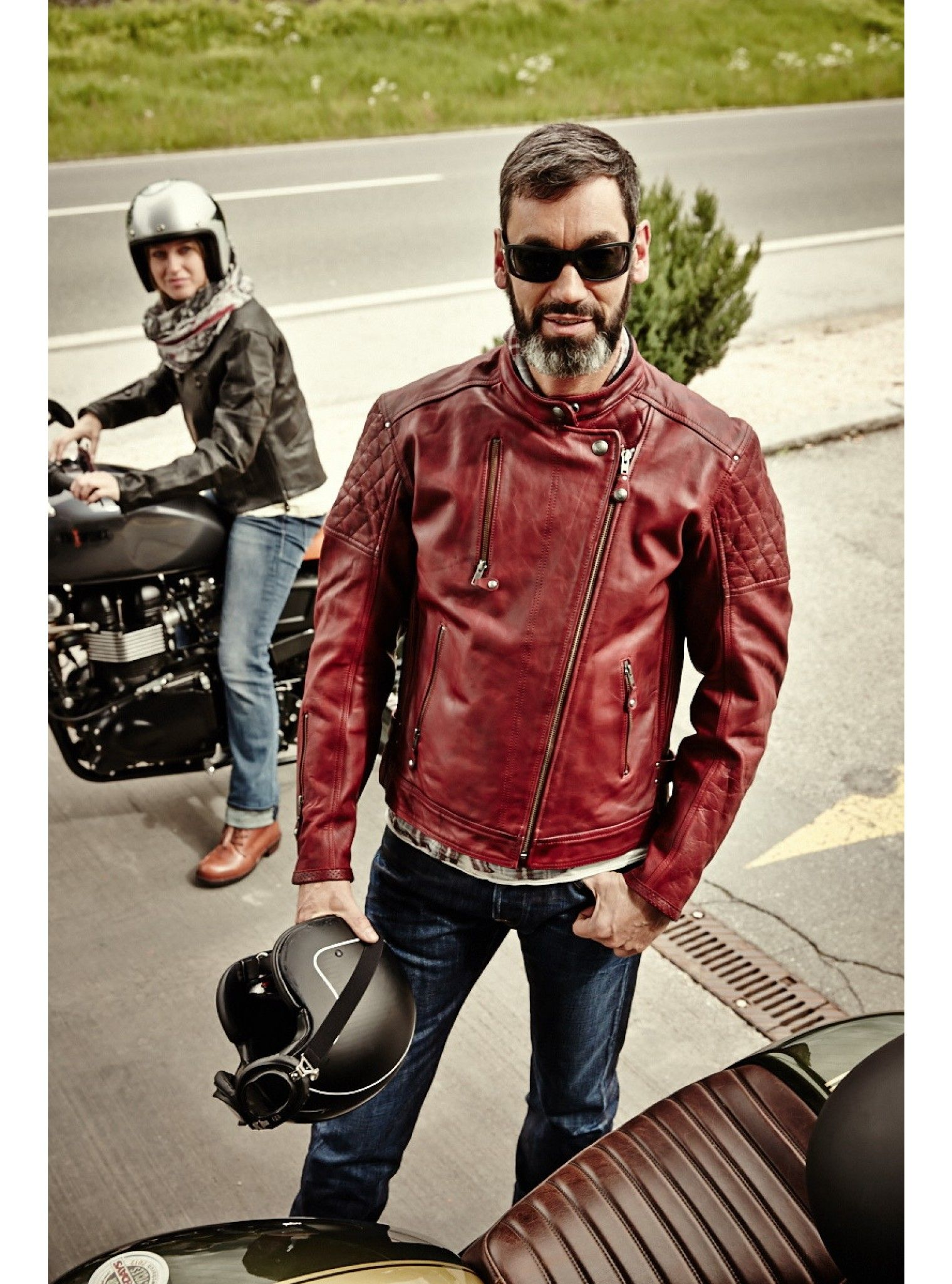 Roland Sands Clash Jacket Mens Leather Jacket Casual