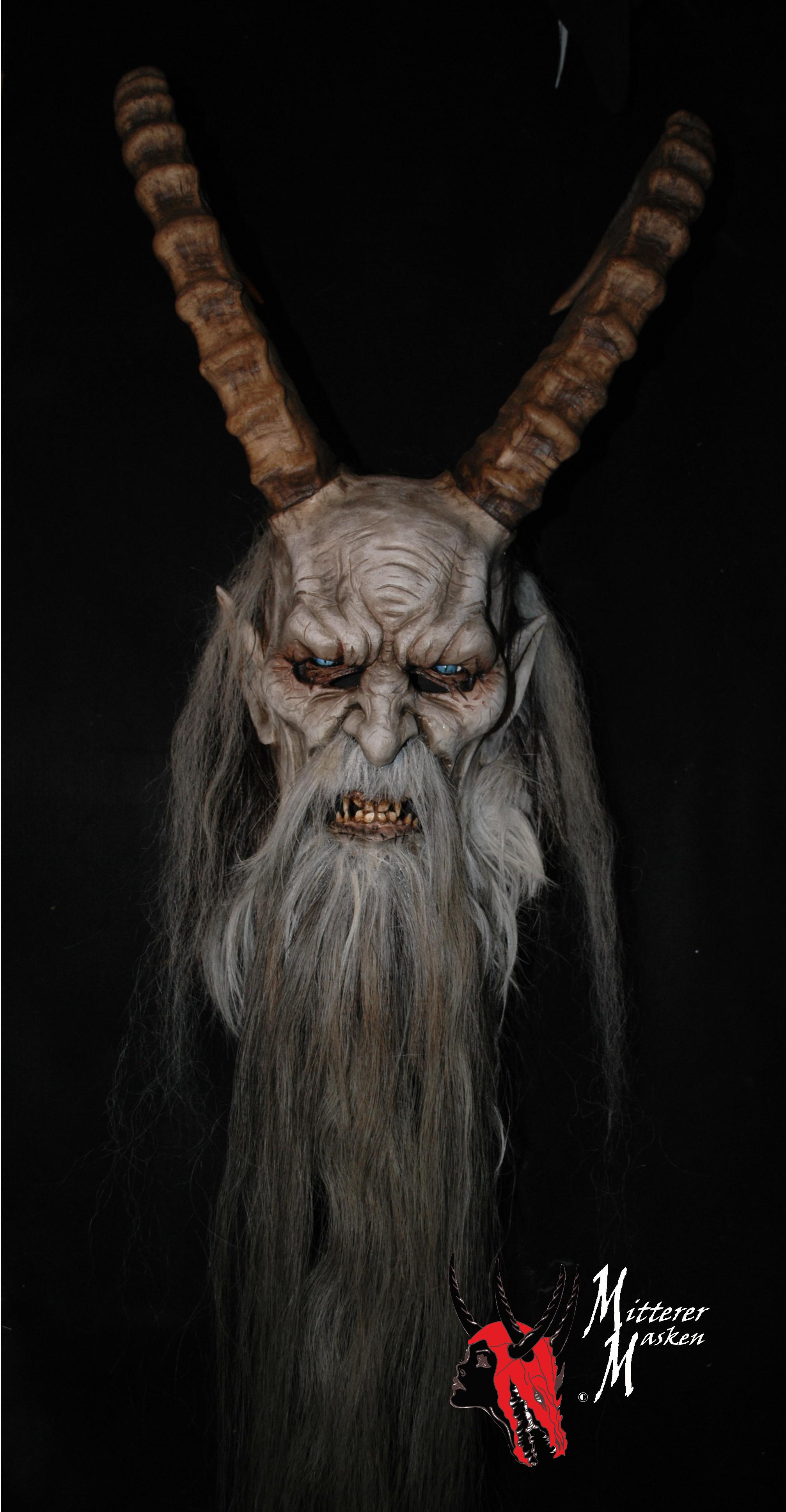 masken holzmaske wooden masks devil krampus. Black Bedroom Furniture Sets. Home Design Ideas
