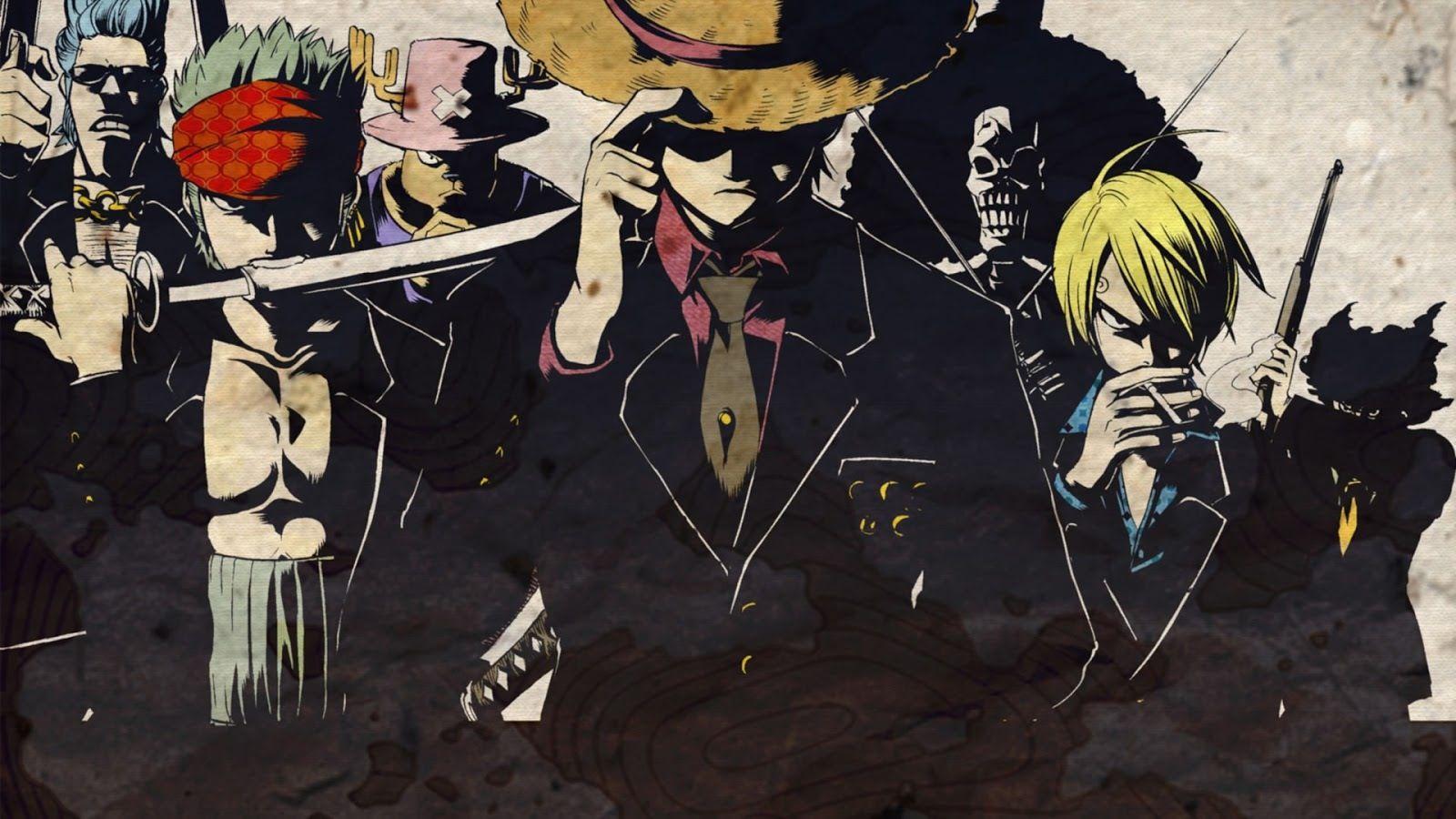 One piece manga mafia style One piece anime, One