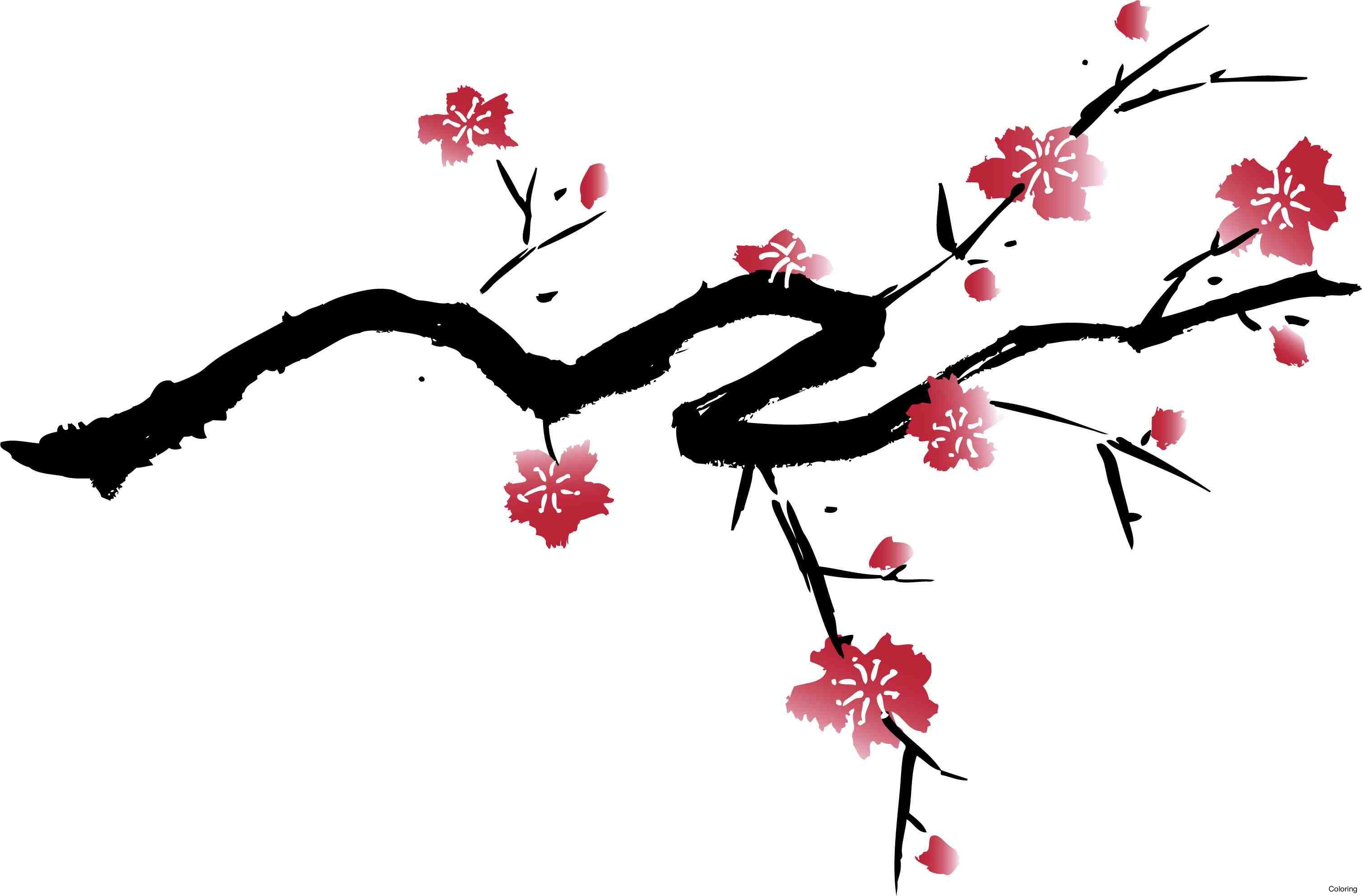 Image result for cherry blossom black and white tattoo ...