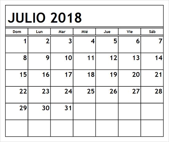 print 2018 july calendar spanish 2018 july calendar spanish pdf spanish language