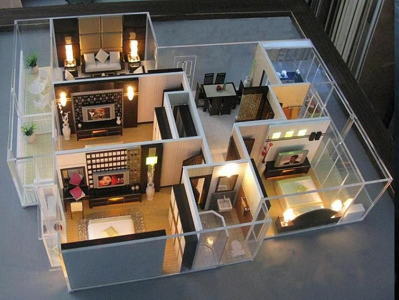 Decor Interior Design Inc Model architecture interior model maker (jw-03) | wee worlds | pinterest