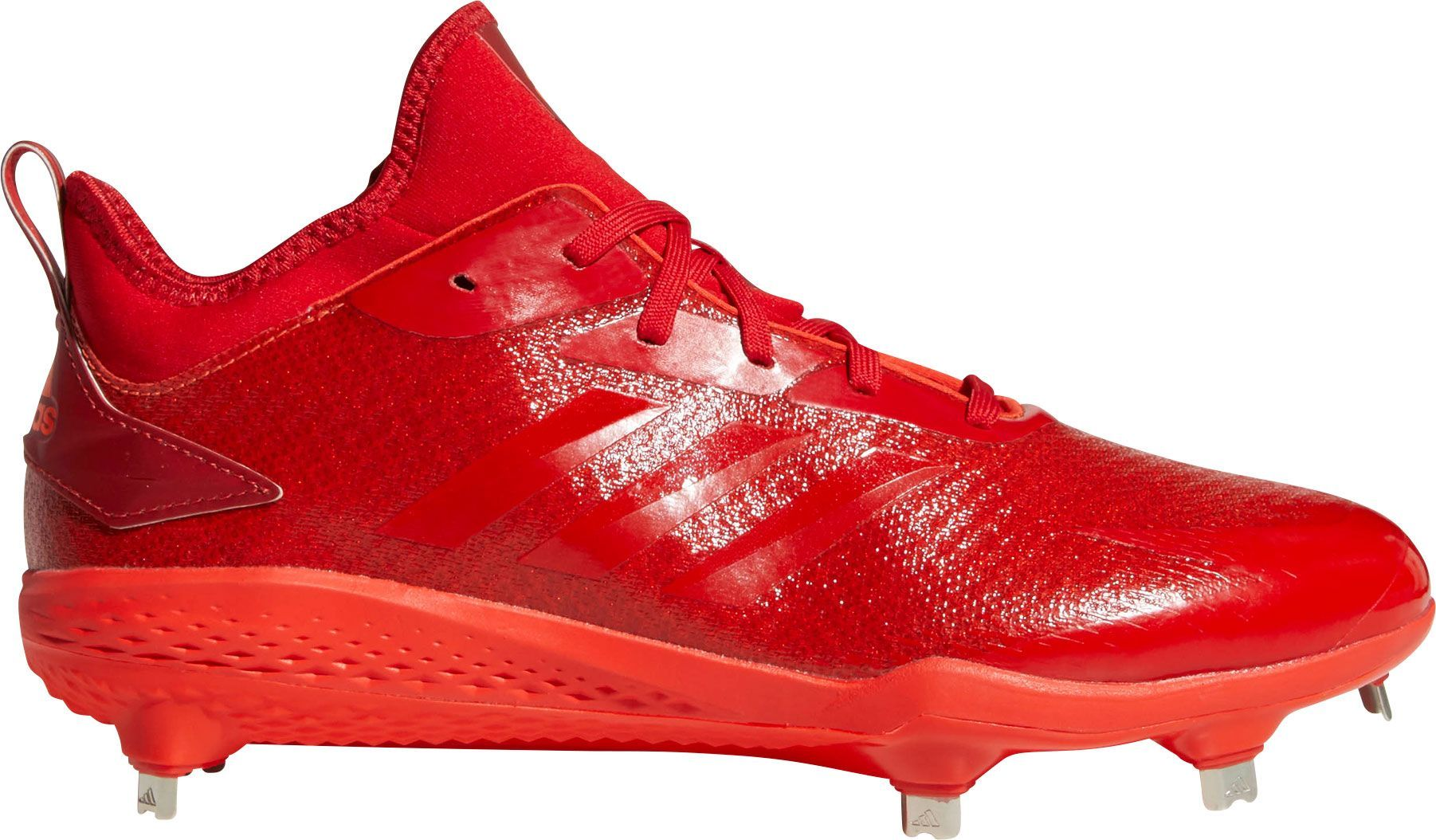 406d91ac286f adidas Men's adiZERO Afterburner V Dipped Metal Baseball Cleats, Red