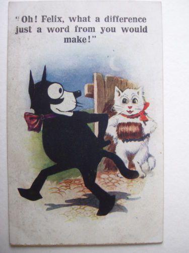 Felix the Cat - vintage postcard - No. 4723. | eBay