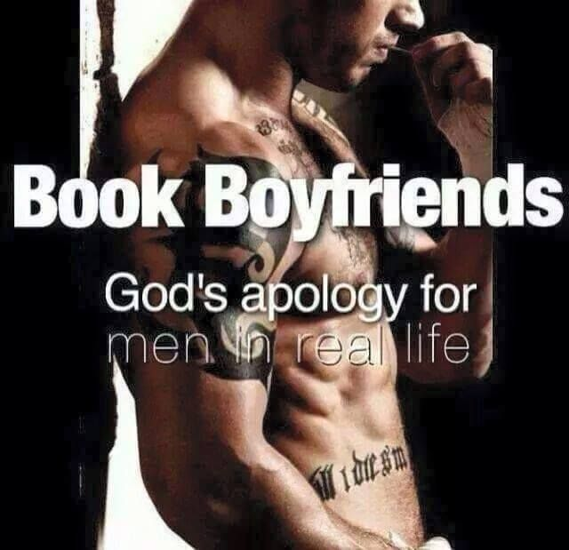 Book boyfriends - God's apology for men in real life