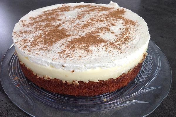 Fanta - Schmand - Kuchen mit Pudding und Mandarinchen #amazingcakes