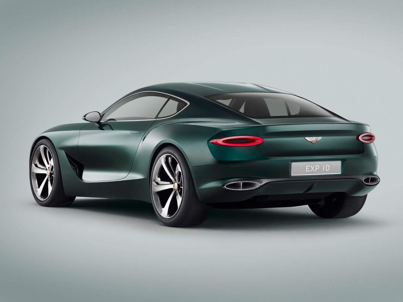 According To Bentley The Fastback Two Door Could Hint At A Future Sports Car