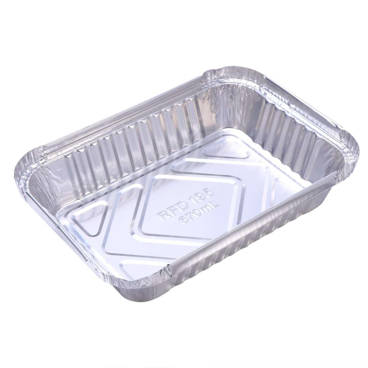 30 Pcs Disposable Aluminum Serving Tray Foil Baking Pans