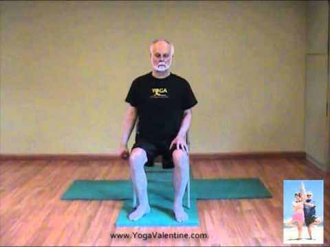 this is a very gentle chair yoga sequence that i taught to
