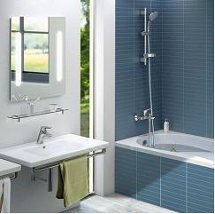 sanft: grau mit blau | herzhausen | pinterest | blau, grau und, Wohnzimmer design