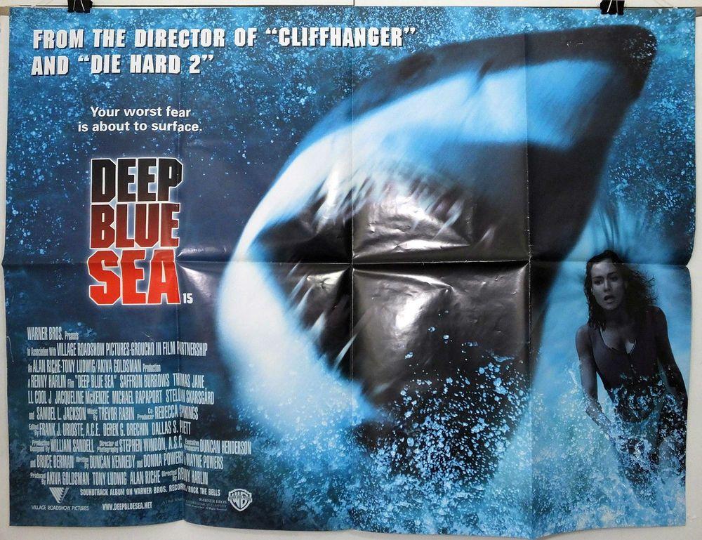 DEEP BLUE SEA - SAFFRON BURROWS / THOMAS JANE - ORIGINAL UK QUAD ...