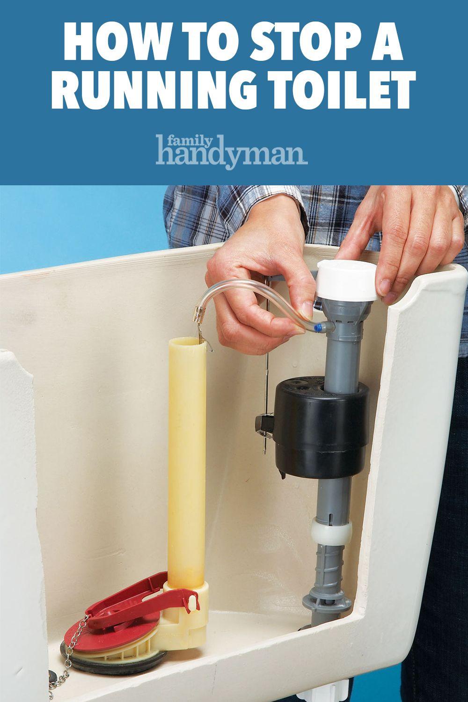 How To Stop A Running Toilet Toilet Repair Diy Home Repair