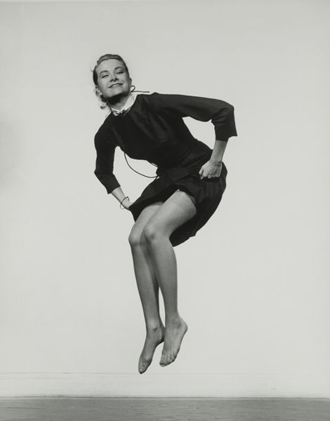 """Grace Kelly, 1959 in """"Jumpology"""" by Philippe Halsman"""