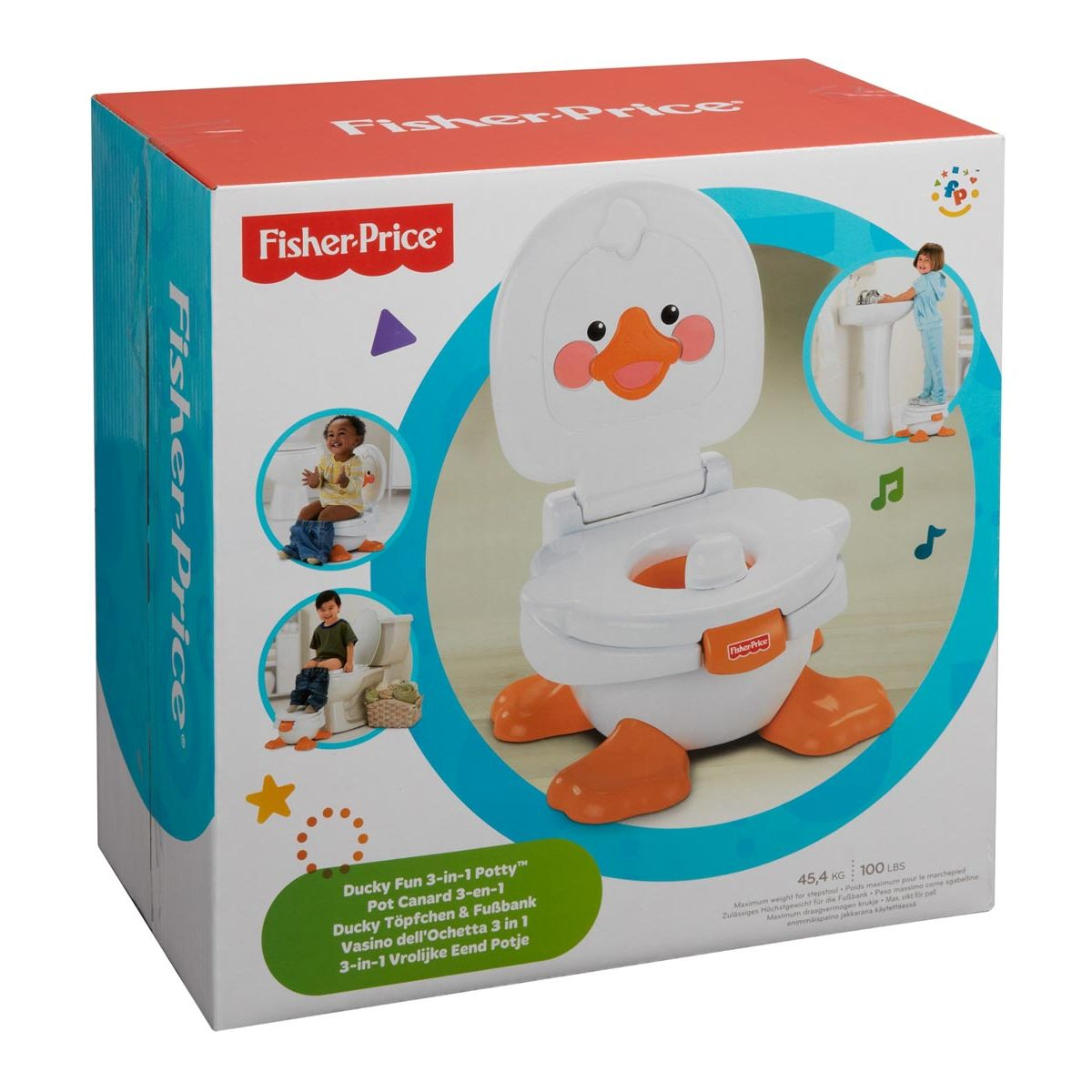 FisherPrice Ducky Fun 3In1 Potty (With images) Fisher