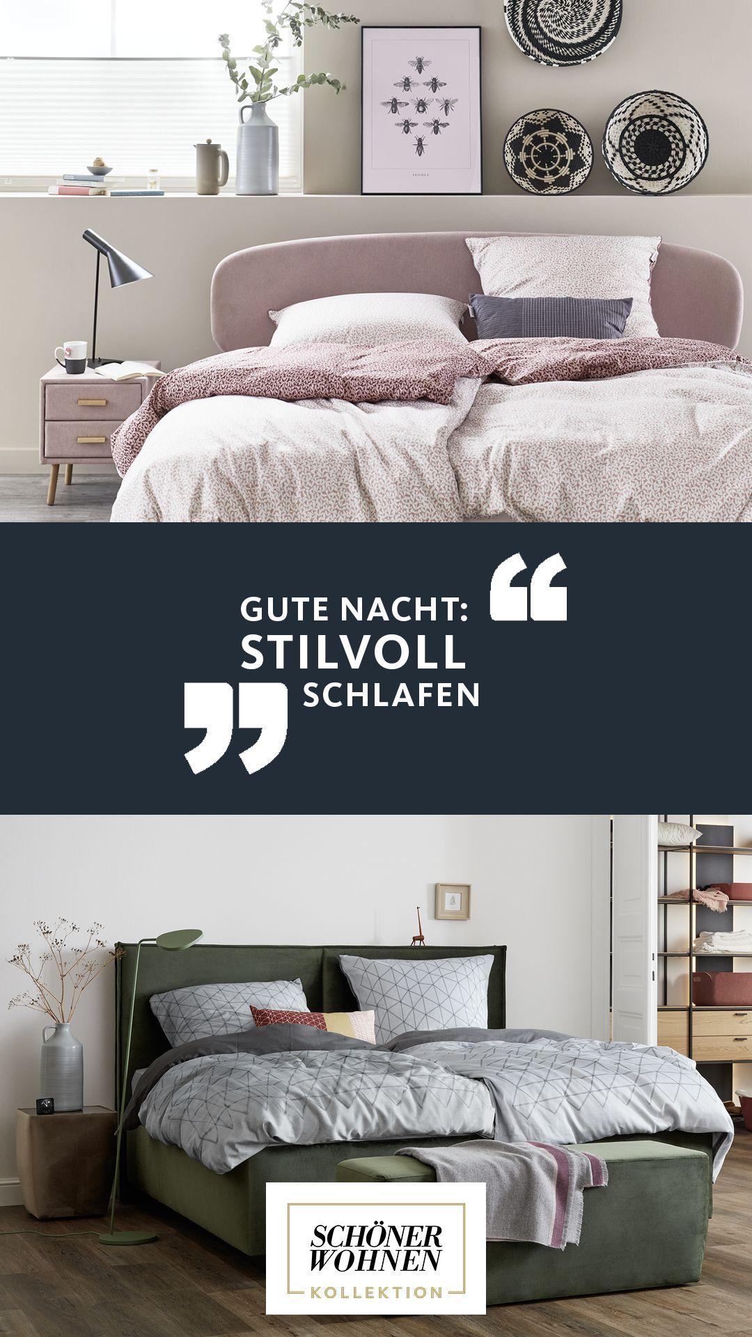 Schlafzimmer Ideen mit SCH–NER WOHNEN Kollektion Gut