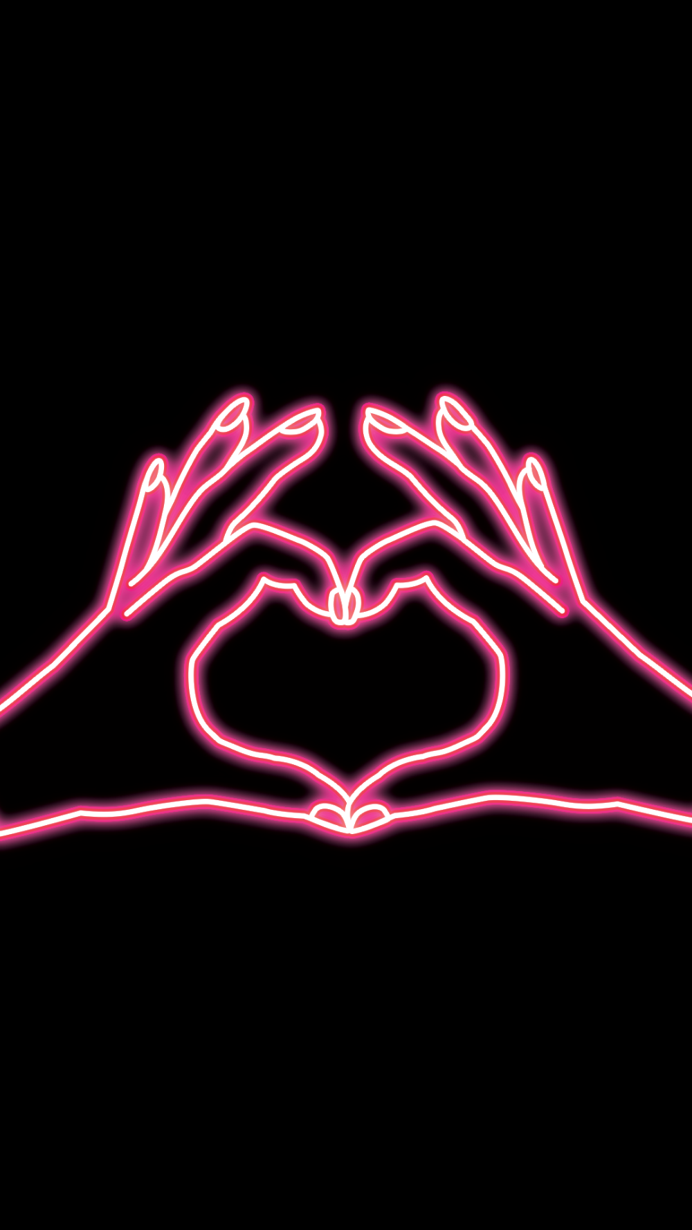 I Heart You Wallpaper The Ardenebabe Club Wallpaper Iphone Neon Neon Light Wallpaper Neon Wallpaper