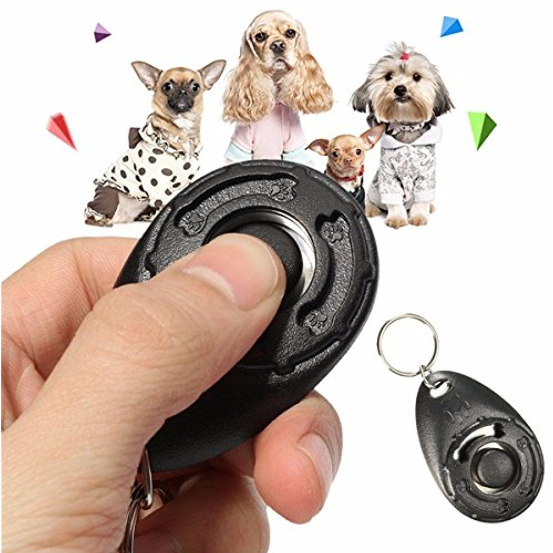 Dog Training Clicker Black Pet Dog Puppy Clicker Training Trainer