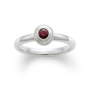 Avery Remembrance Ring With Garnet James Avery Ring And January